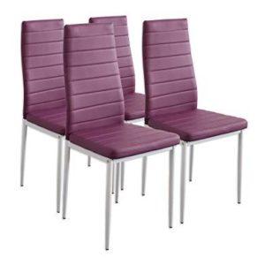 Трапезен стол за хранене Albatros MILANO 2703 / лилав