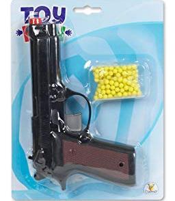 Детски пистолет с пластмасови топчета Toy Fun